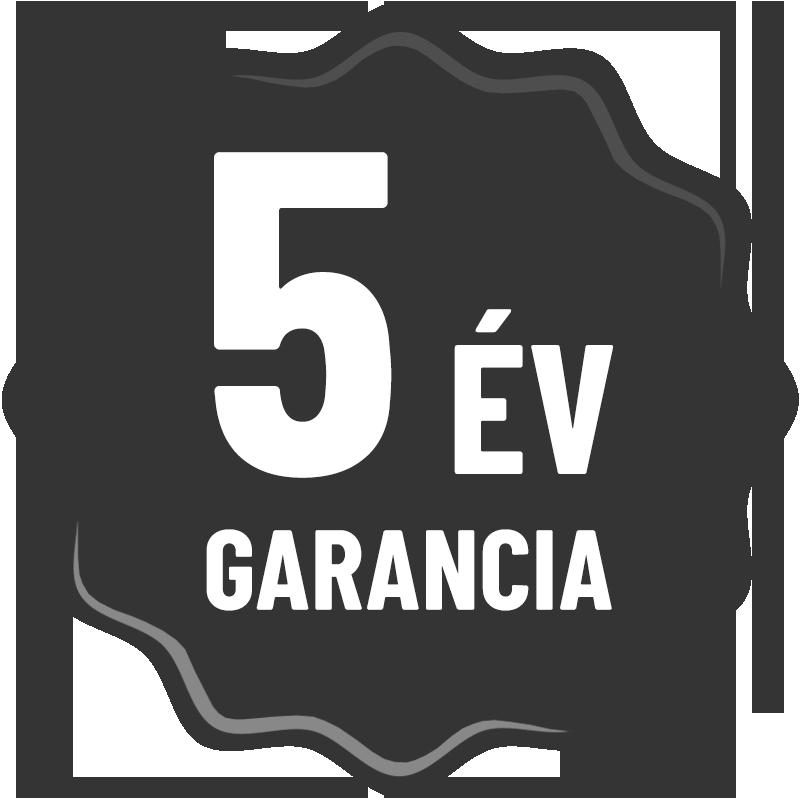 5 év garancia ikon