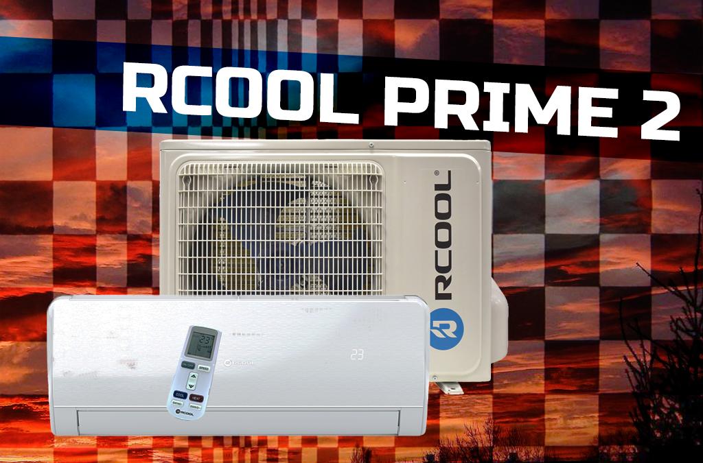 Rcool PRIME 2R légkondi, klíma akció